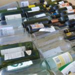 Layer of bottles
